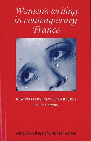 Cover Women's writing in contemporary France