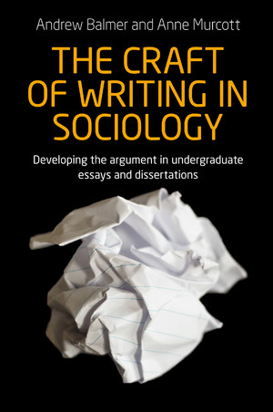 Cover The craft of writing in sociology