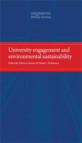 Cover University engagement and environmental sustainability