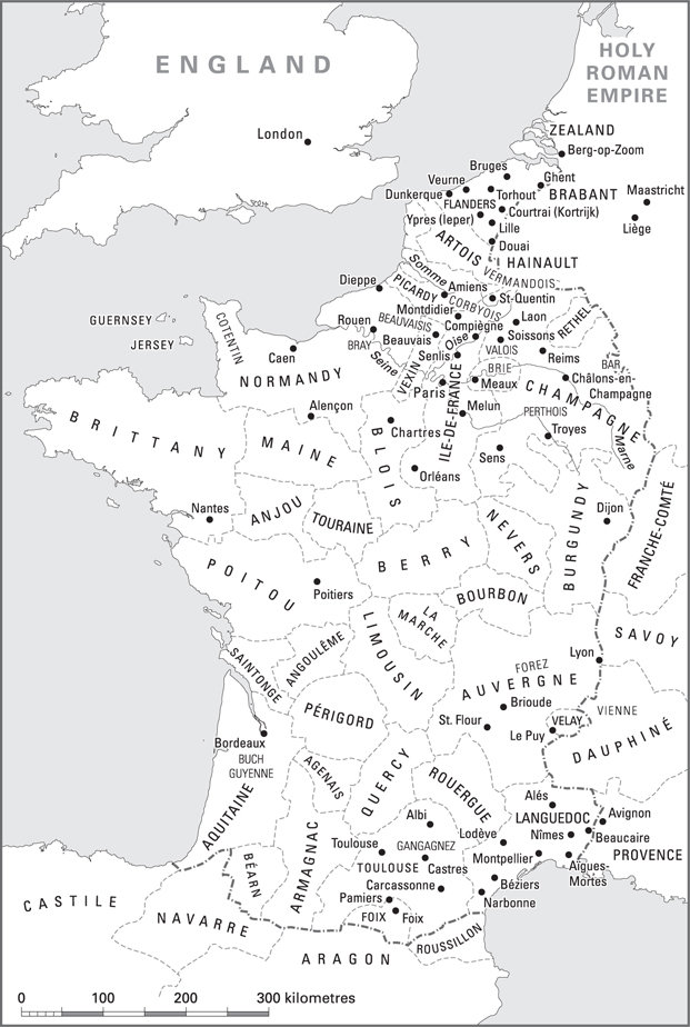 Medieval Map Of France.Maps Popular Protest In Late Medieval Europe
