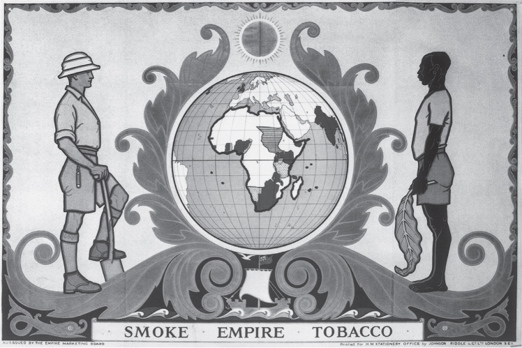 The Empire Marketing Board, tobacco advertising and the imaging of