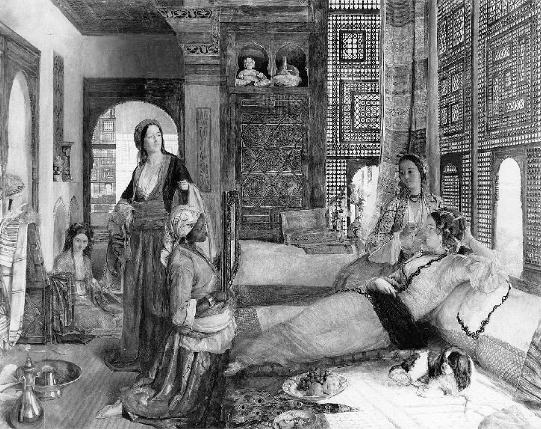 The British Turk' and the 'Christian harem' : The harem