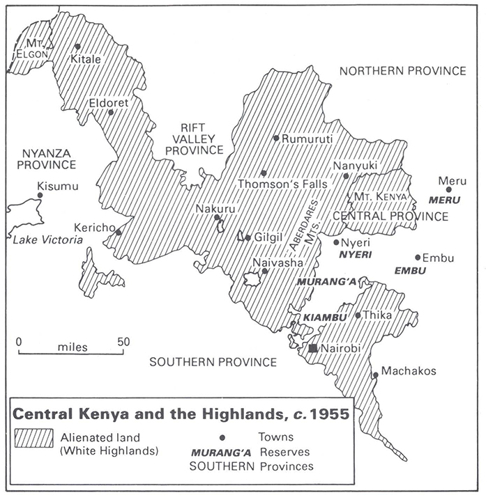 Crime, politics and the police in colonial Kenya, 1939–63